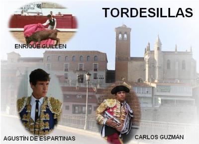 CARLOS GUZMÁN ESTA TARDE EN TORDESILLAS